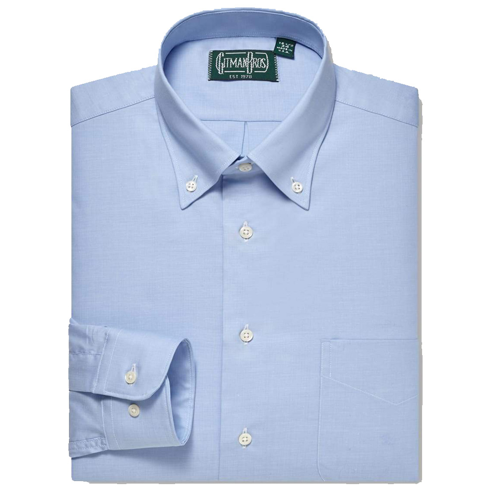 Gitman Button Down Blue Weba Stretch