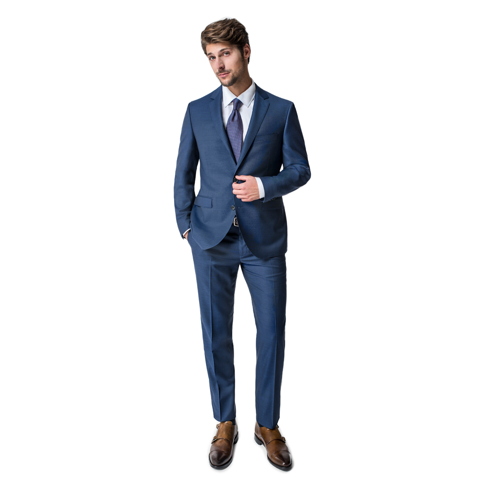 Paul Betenly Cobalt Blue Classic Fit Men's Dress Suit