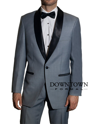 Downtown Grey and Black Skyfall Tuxedo