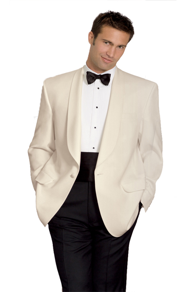 Neil Allyn Ivory Dinner Jacket