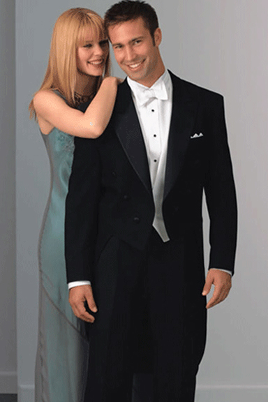 Neil Allyn Full Dress Black Tailcoat Tuxedo