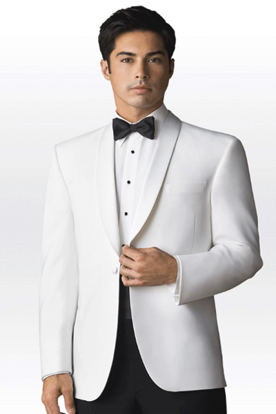 Neil Allyn White Dinner Jacket