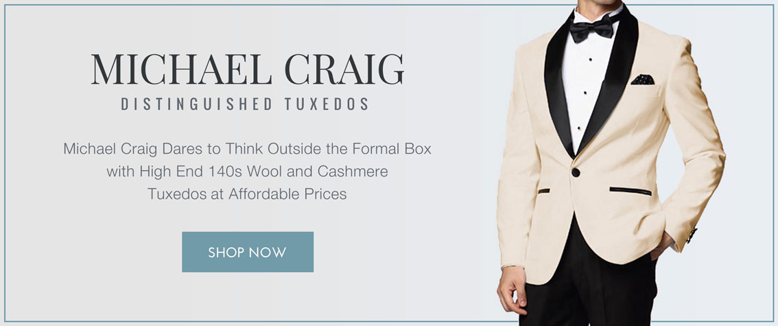 Michael Craig Distinguished Tuxedos